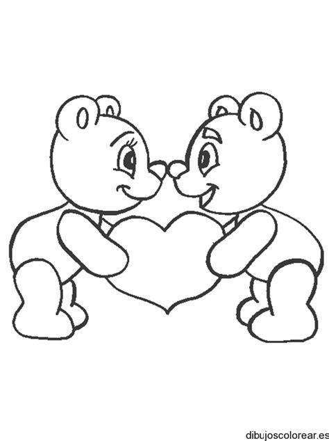 imágenes de osos fáciles para dibujar dibujo de osos enamorados