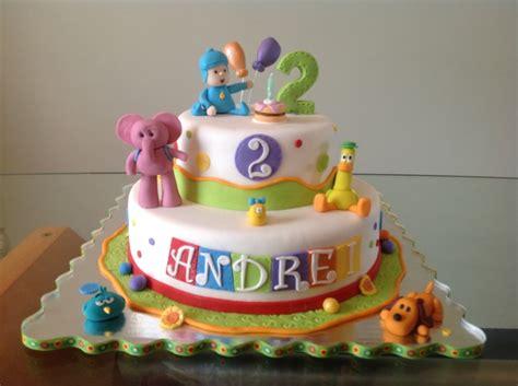 pocoyo birthday cake pocoyo birthday cake cakecentral