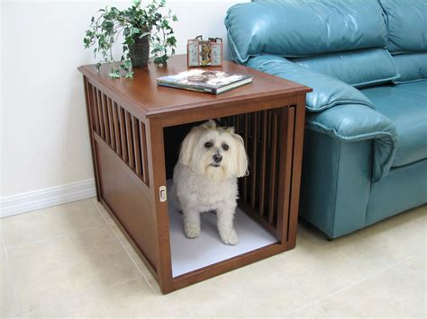 crate puppy crate furniture stylish crates wood crate furniture breeds picture