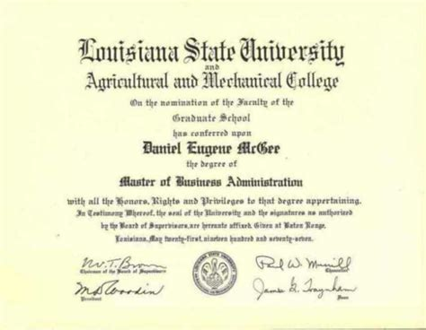 State Mba Requirements by Daniel Mcgee Resume Education Mba Bs Economics