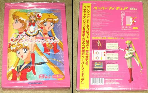 Sailor Moon Papercraft - sailor moon brooch paper crafts