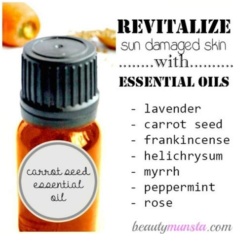 Sun Repair Damage Products List by What Are The Best Essential Oils For Sun Damaged Skin