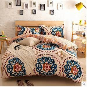 Anthropologie Comforter Beige And Blue Patterned Pretty Unique Comforter Sets