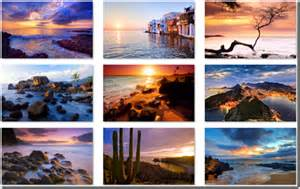 microsoft beach themes glowing beaches theme for windows the blog of rob margel