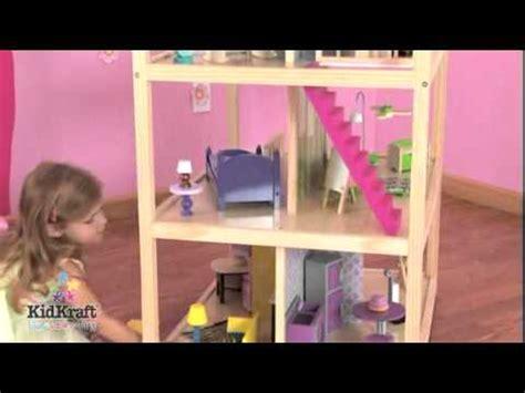 so chic doll house dollhouses so chic dollhouse by kidkraft youtube