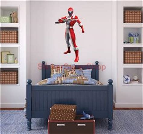 power ranger wall stickers power rangers decal removable wall sticker home decor boys stickups ebay