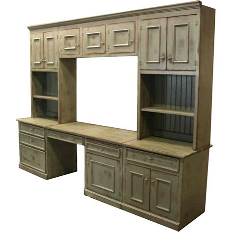 Wall Desk Unit by Wall Units With Desk And Bookcase Plus Cabinets Homesfeed