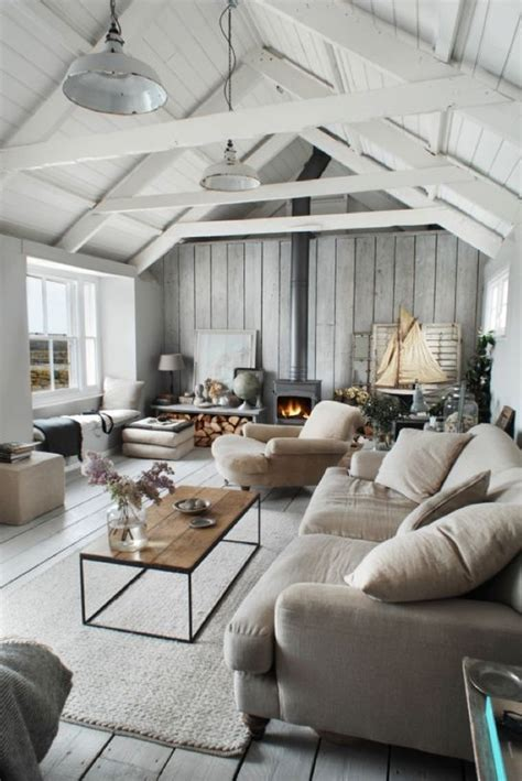 picture of cozy living room designs with exposed wooden beams 12