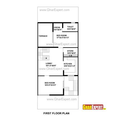 250 square meters to feet house plan for 30 feet by 75 feet plot plot size 250 square yards