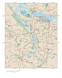 portland metro map map travel vacations