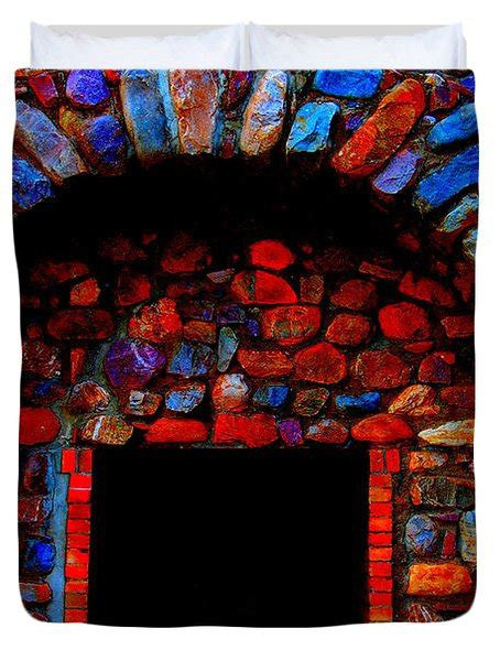 colorful fireplace colorful fireplace photograph by blunkall