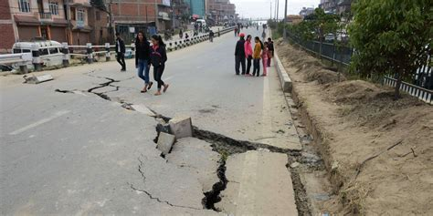 earthquake happening nepal earthquake happened right on schedule scientists