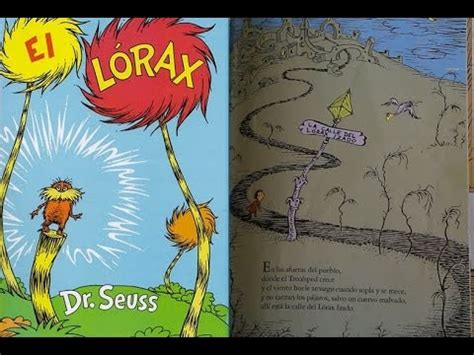 el lorax por dr seuss libro leido en youtube youtube