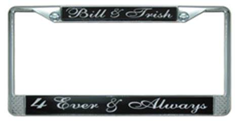 Vanity License Plate Frames by Personalized License Plate Frame
