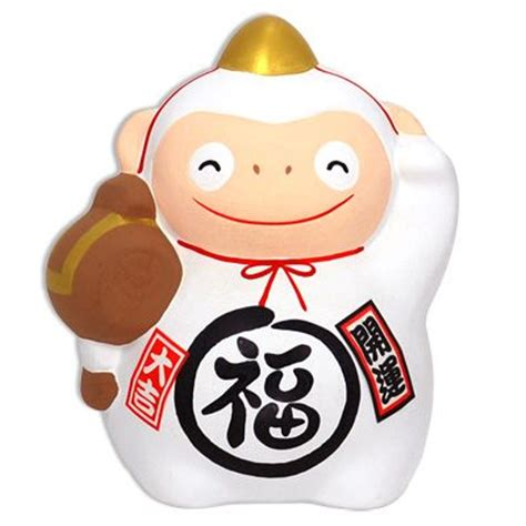 year of the monkey figurine 2016 gift from japan new
