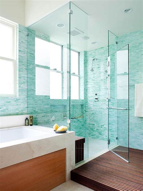 turquoise tile bathroom 50 awesome walk in shower design ideas top home designs