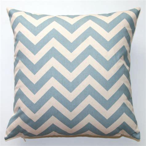 Blue Chevron Pillows premier prints blue chevron pillow cover by
