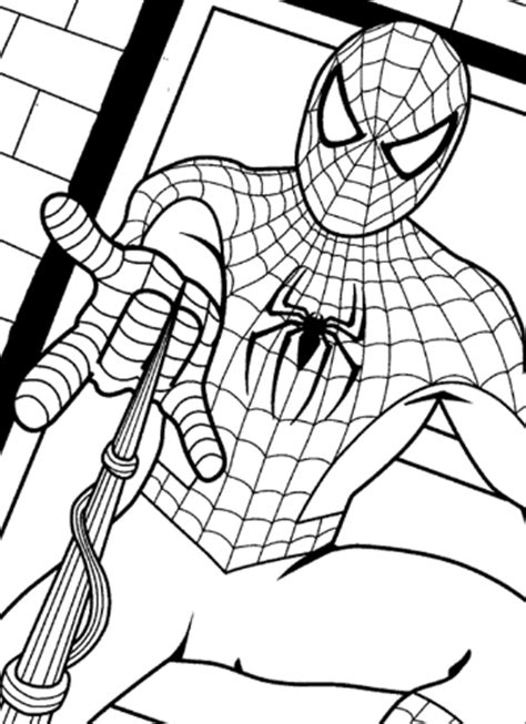 preschool coloring sheets batman spiderman superman
