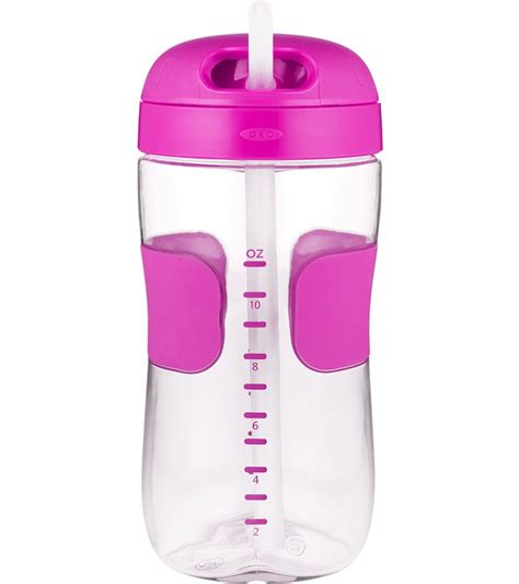 Oxo Tot Sippy Cup Pink 11 Oz by Oxo Tot Straw Cup 11 Oz Pink