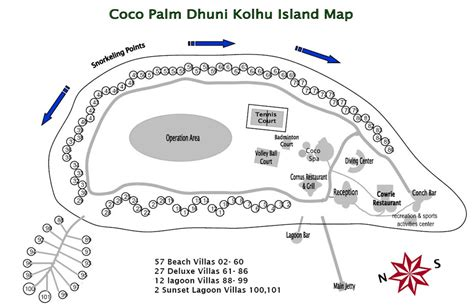 coco island resort map lets see asia