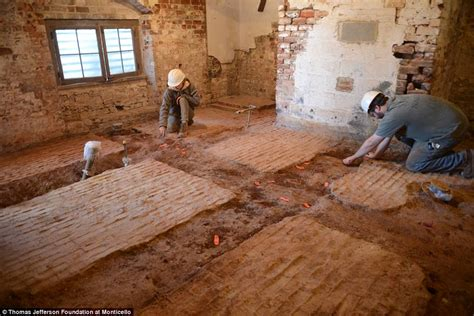 monticello bedroom archaeologists find sally hemings room in monticello