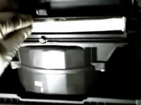 how to replace cabin air filter 2010 hyundai accent youtube