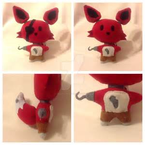Fnaf foxy plush sold by decepti gal2313 on deviantart