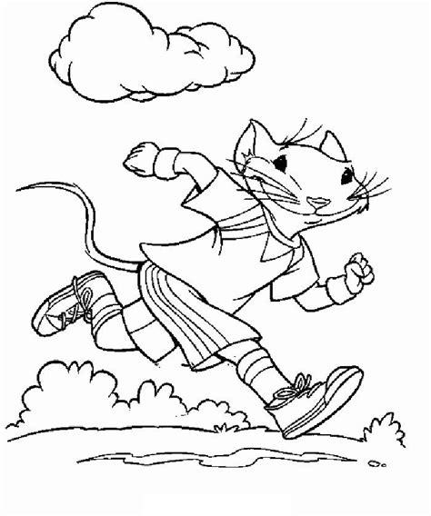 stuart little coloring pages coloringpages1001 com
