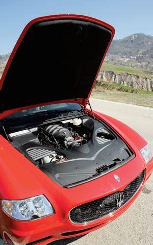 2006 maserati quattroporte sport gt first look motor trend