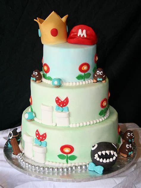 Hochzeitstorte Nintendo by Mario And Princess Wedding Cake Wedding Cakes