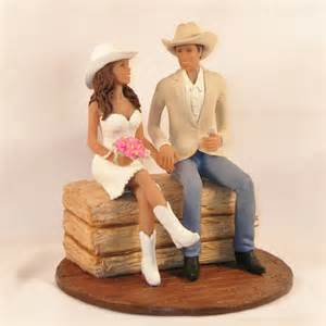 country cake topper country wedding cake topper with in cowboy hats and boots ipunya