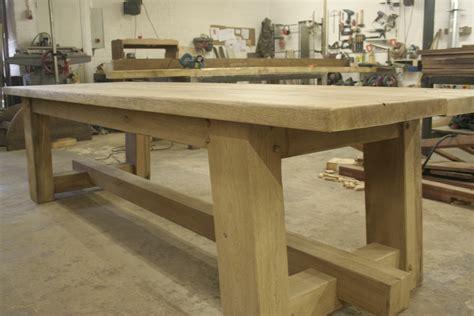 landelijke tafel zelf maken eiken meubels van geraaths meubelmaker limburg