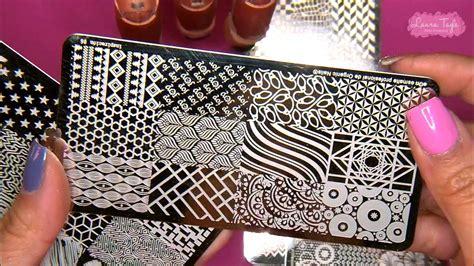 imagenes de uñas pintadas con sellos sellos con esmalte para u 209 as youtube