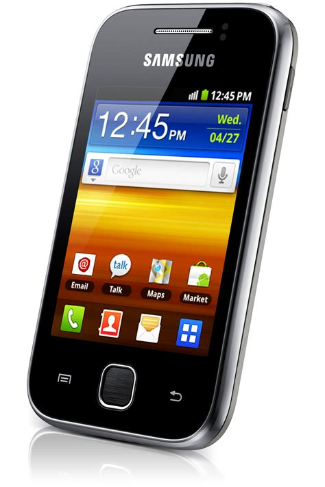 samsung y 7 samsung galaxy y 7 2mbps 3 display and 3g features