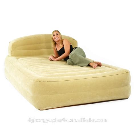 king size air bed inflatable pvc king size air bed buy inflatable plastic