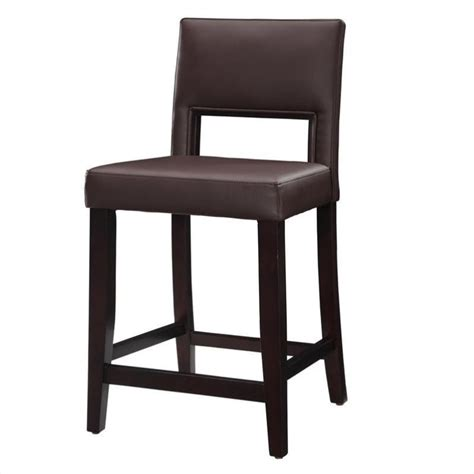 24 inch high bar stools 24 quot high counter stool in dark espresso 14053vesp 01 kd u