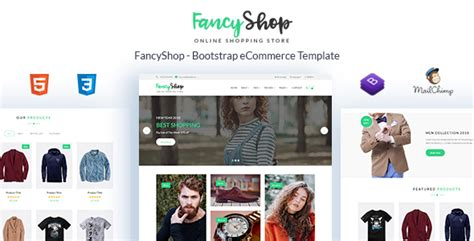 Fancyshop Ecommerce Bootstrap Template Download Fancyshop Ecommerce Bootstrap Template Free Bootstrap 4 Ecommerce Template