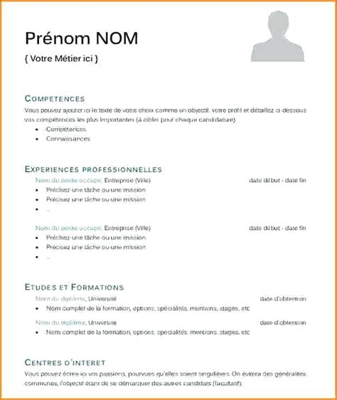 Modele De Cv 2015 by 7 Model Cv Gratuit 2015