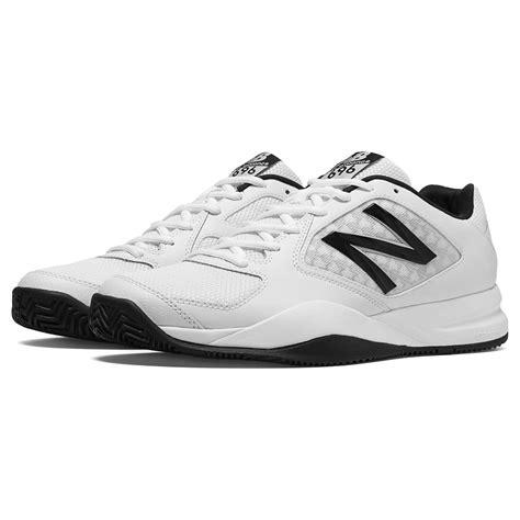 new balance mens 696v2 tennis shoes white black d