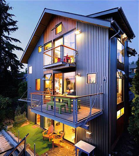 modern renovation 1600sf house by johnston architects