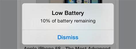 how to disable the annoying low battery notification in ios 7