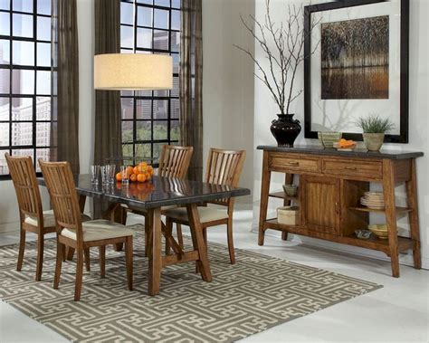 dining room sets ta fl intercon dining room set lucca inlu ta 4272 rbs c set