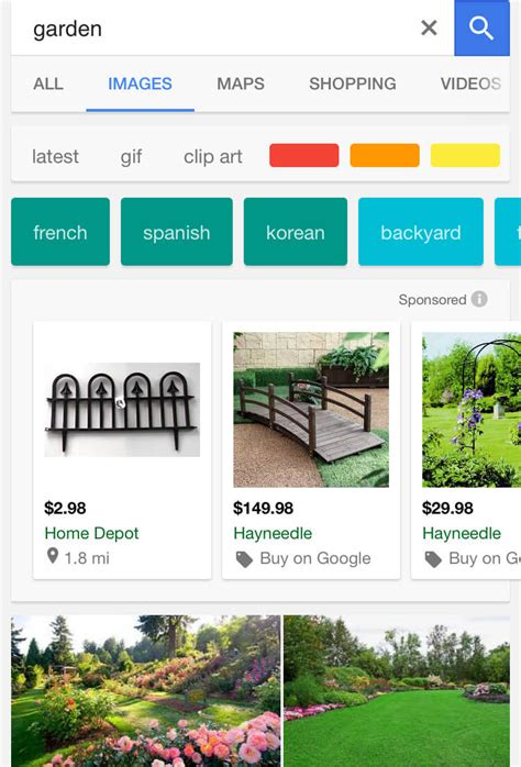 New Search Mobile Image Search Adds New Filters