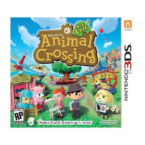 animal crossing new leaf 3ds console animal crossing new leaf nintendo 3ds top achat