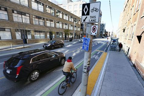 wheels section toronto star bike lanes in toronto we could do a lot better toronto