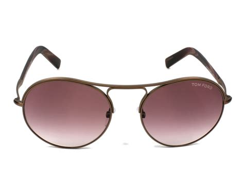 Tom Ford 2 tom ford sunglasses tf 449 49t brown visionet