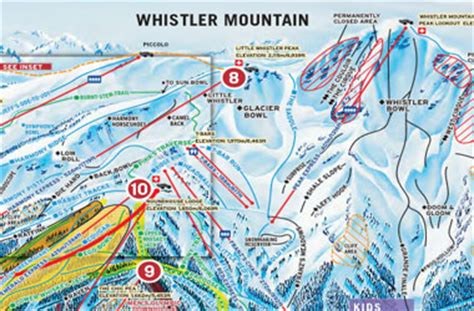 whistler maps whistler village getting to whistler canada