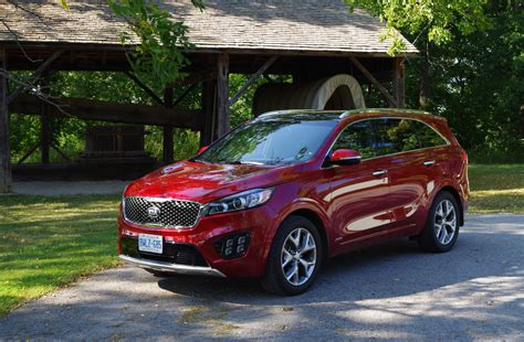 Kia Sorento Price Canada Review 2016 Kia Sorento Sx Canadian Auto Review