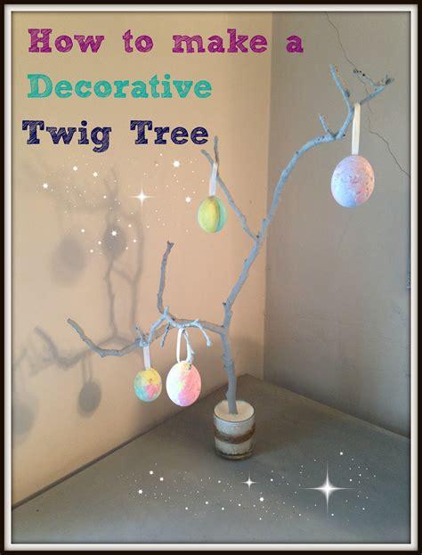 how to make a tree how to make a decorative twig tree