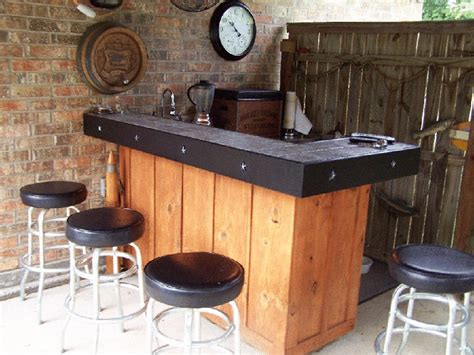 Outdoor Bar Top Ideas by Many Kinds Of Outdoor Bar Ideas And Design